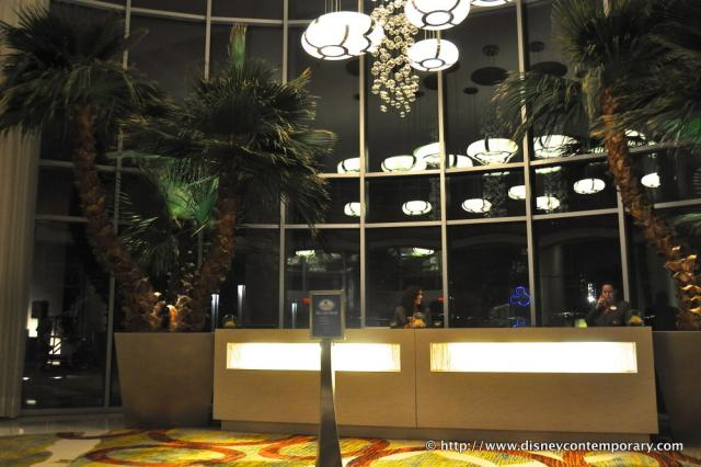 Bay Lake Tower Front Desk
