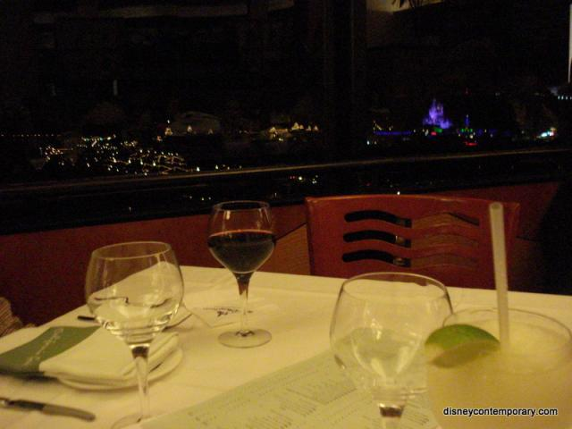 Table at California Grill