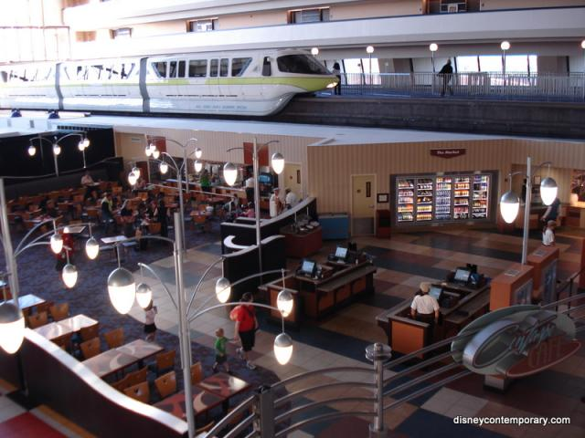Contempo Cafe with Monorail