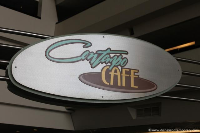 Another shot of Contempo Cafe Sign