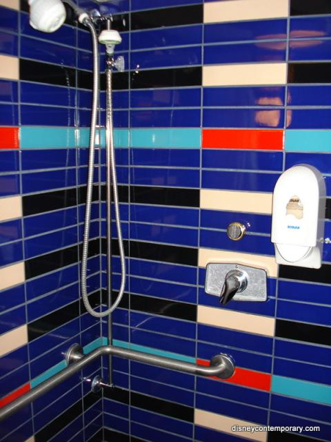 Fitness Center accessible shower