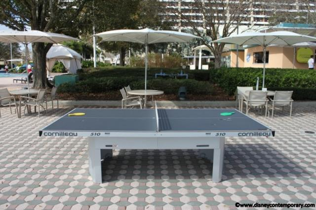 Ping Pong by the Pool