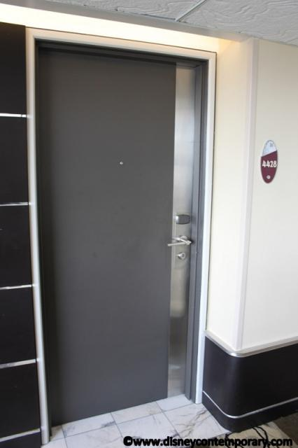 Door to room