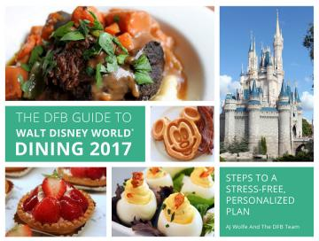 DFB Guide to Walt Disney World Dining 2017
