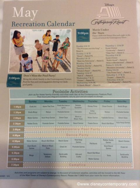 May 2014 Activity Sheet