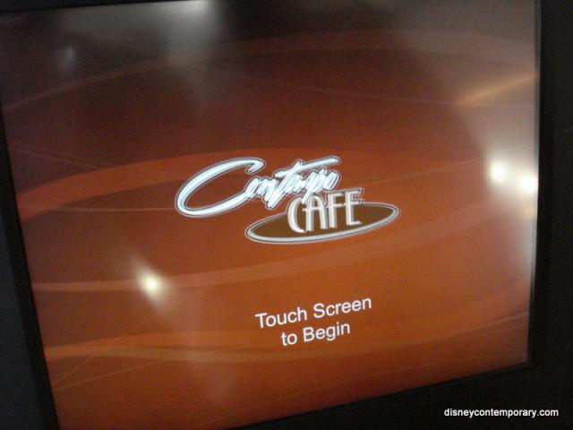 Contempo Cafe Ordering system