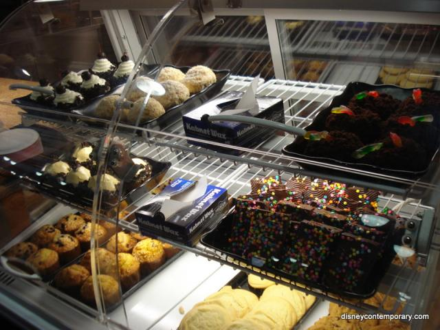 Contempo Cafe baked goods
