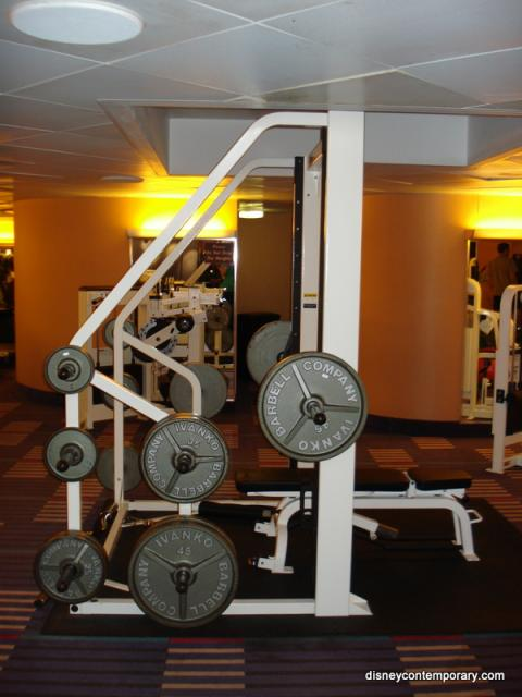 Smith Machine at Contemporary Fitness Center