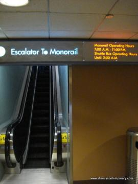 Escalator to Monorail